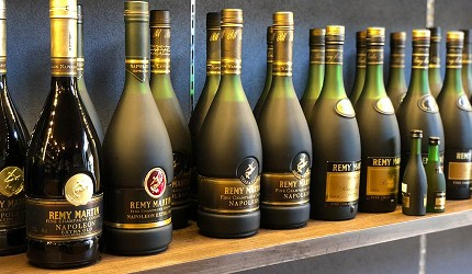 日本威士忌名酒購買推薦京都「酒的美術館 清水寺店」販售的Remy Martin 的 Napoleon老酒系列