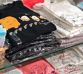 日本大阪難波車站內的「ekimo」的「Sirotan Friends park」販售的T-shirt