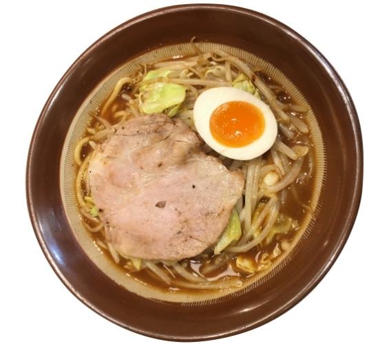 日本必吃推薦拉麵在京都車站的「京都拉麵小路」的新潟・東横的濃厚味噌拉麵