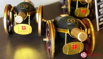 日本威士忌名酒購買推薦京都「酒的美術館 清水寺店」的伴手禮大砲酒瓶