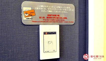 「a-STYLE心斎橋」電子式感應房卡