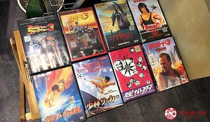 大阪住宿推薦通天閣新世界旁的平價民宿風旅館「Hotel金魚」可免費觀賞DVD