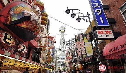 大阪住宿推薦平價民宿風旅館「Hotel金魚」位於知名景點通天閣附近