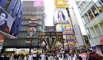 大阪住宿推薦通天閣新世界旁的平價民宿風旅館「Hotel金魚」可搭乘地鐵至人氣景點心齋橋