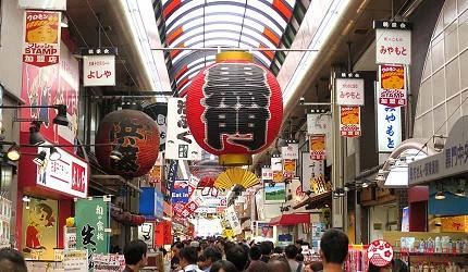大阪住宿推薦通天閣新世界旁的平價民宿風旅館「Hotel金魚」可搭乘地鐵至人氣景點黑門市場