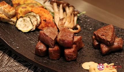 神戶A5最高級神戶牛必吃推薦「ステーキ仙」的牛排料理