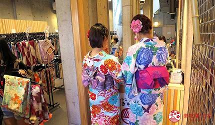 京都和服浴衣出租店「岡本」八坂神社店