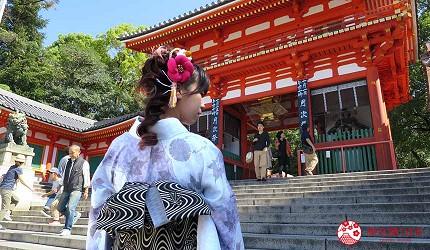 八坂神社拍照