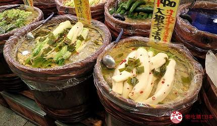 錦市場傳統乾貨與醃漬醬菜