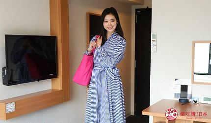 京都七條住宿推薦「HOTEL GLAD ONE 京都七條」的房間設計