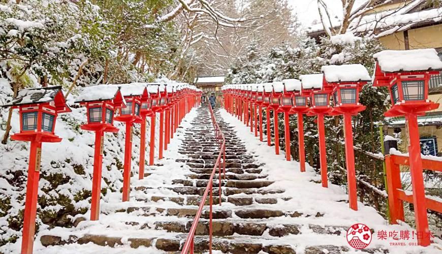 日本京都自由行行程景點推薦攻略懶人包下雪貴船鞍馬一日遊