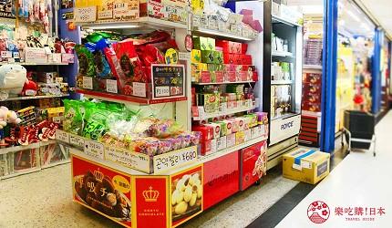大阪必买人气伴手礼Marushige「唿吸巧克力」关西机场也买得到的「SKY SPOT」店门口