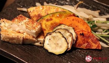 神戶A5最高級神戶牛必吃推薦「ステーキ仙」牛排與烤蔬菜、鐵板豆腐