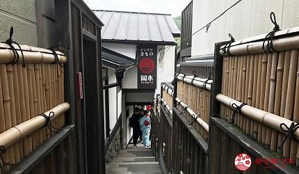 岡本和服的清水寺分店