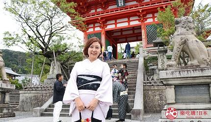 京都清水寺和服拍照