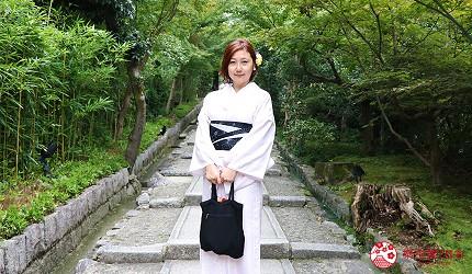 京都高台寺和服拍照