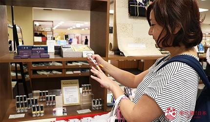京都高島屋販售上羽繪惣指甲油