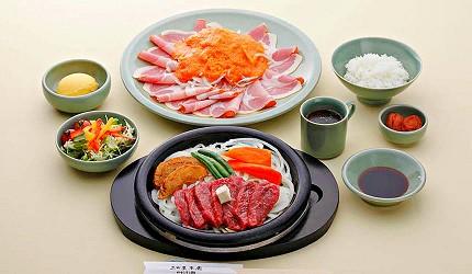 神戶近郊頂級黑毛和牛鐵板燒推薦「三田屋本店安逸之鄉」的午餐黑毛和牛套餐