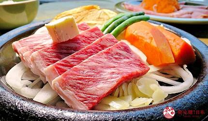 神戶近郊頂級黑毛和牛鐵板燒推薦「三田屋本店安逸之鄉」的黑毛和牛里肌牛排(黒毛和牛ロースステーキ)