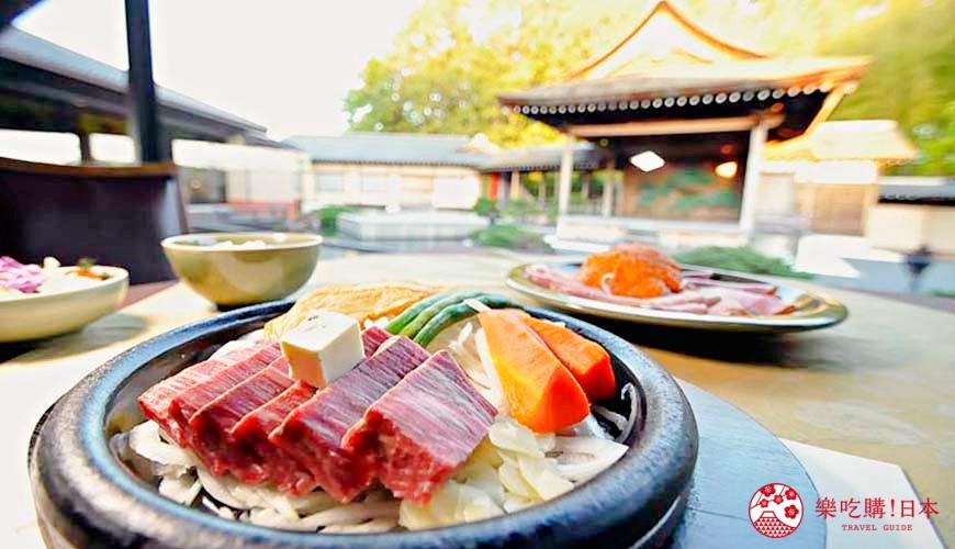 神戶近郊頂級黑毛和牛鐵板燒推薦!「三田屋本店安逸之鄉」吃滑嫩黑毛和牛看能劇!