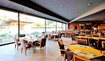 神戶近郊頂級黑毛和牛鐵板燒推薦「三田屋本店安逸之鄉」的用餐空間