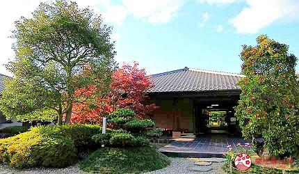 神戶近郊頂級黑毛和牛鐵板燒推薦「三田屋本店安逸之鄉」的日式庭園環境