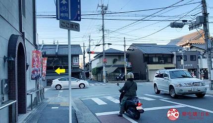 日本京都推薦廚房用品店「KOTANI」(コタニ金物)的交通前往方式步驟四