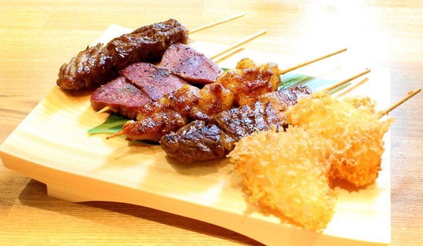 京都車站前購物推薦:京都塔商場「KYOTO TOWER SANDO」的B1F FOOD HALL美食大街的「京の焼肉処 弘」的主廚推薦拼盤