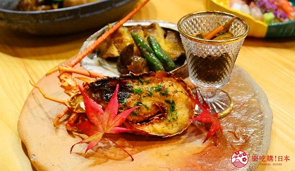 日本「淡路島」環島一日遊景點推薦!餐廳「IKOI Japanese Cuisine」的「伊勢龍蝦」與「鮑魚」