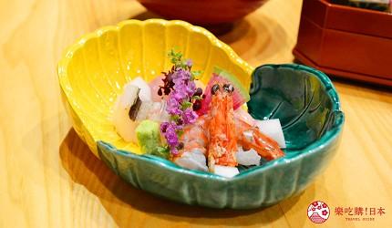 日本「淡路島」環島一日遊景點推薦!餐廳「IKOI Japanese Cuisine」的新鮮生魚片