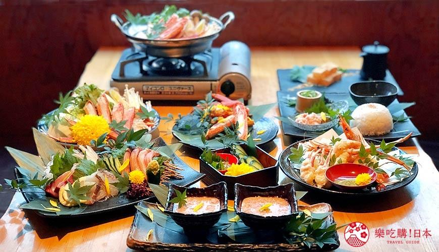 6,000日圓挑戰CP值超高螃蟹大餐!大阪難波人氣推薦名店「蟹しぐれ」