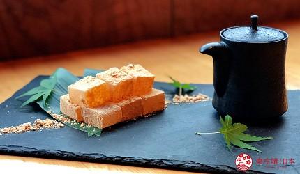 大阪難波人氣推薦名店「蟹しぐれ」的6,000日圓【匠】豪華頂級9品螃蟹大餐的本日甜點(本日の甘味)