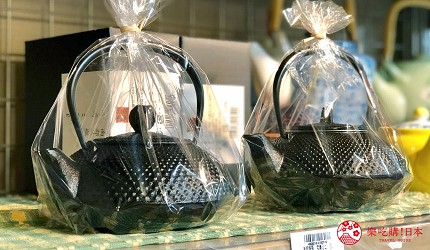 日本京都推薦廚房用品店「KOTANI」(コタニ金物)販售的南部鐵器鐵壺