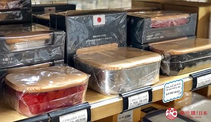 日本京都推薦廚房用品店「KOTANI」(コタニ金物)販售的日式便當盒
