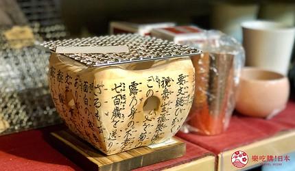 日本京都推薦廚房用品店「KOTANI」(コタニ金物)販售的網燒小火爐