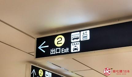 大阪推薦機車部品電單車用品店「Bike World」從關西空港站過去步驟二