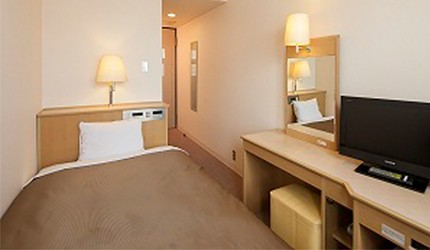 「HOTEL GLAD ONE」系列住宿推薦「HOTEL GLAD ONE 南大阪」的房內照片