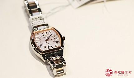 大阪道頓堀電器行推薦「愛電王」店內販售的「SEIKO」女錶