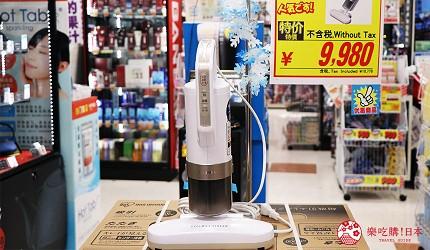 大阪道頓堀電器行推薦「愛電王」店內販售的「Iris Ohyama 塵蟎機」