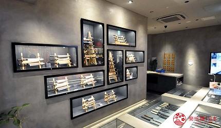 大阪難波購物商場推薦「難波SkyO」的店家「JIKKO 實光刃物」店內環境