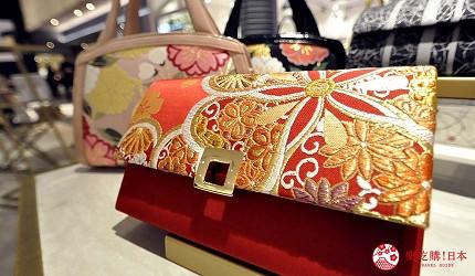 大阪難波購物商場推薦「難波SkyO」的職人手工包包配件店家「IWASA 岩佐」的手拿包