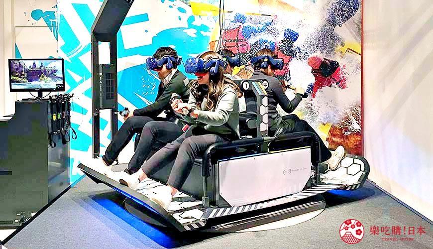 日本VR虛擬實境遊樂場推薦大阪梅田「VR ZONE OSAKA」實際試玩照片
