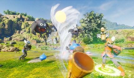 大阪梅田VR虛擬實境遊樂場「VR ZONE OSAKA」的遊戲勇者鬥惡龍(ドラゴンクエストVR)的虛擬實境畫面