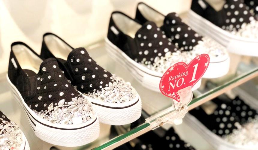 大阪买鞋哪里找?心斋桥限定原创鞋店「Question Mark」贩售的休闲鞋之一