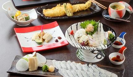 大阪難波吃米其林推薦的星鰻飯!「穴子家 NORESORE 難波店」的「富士」套餐
