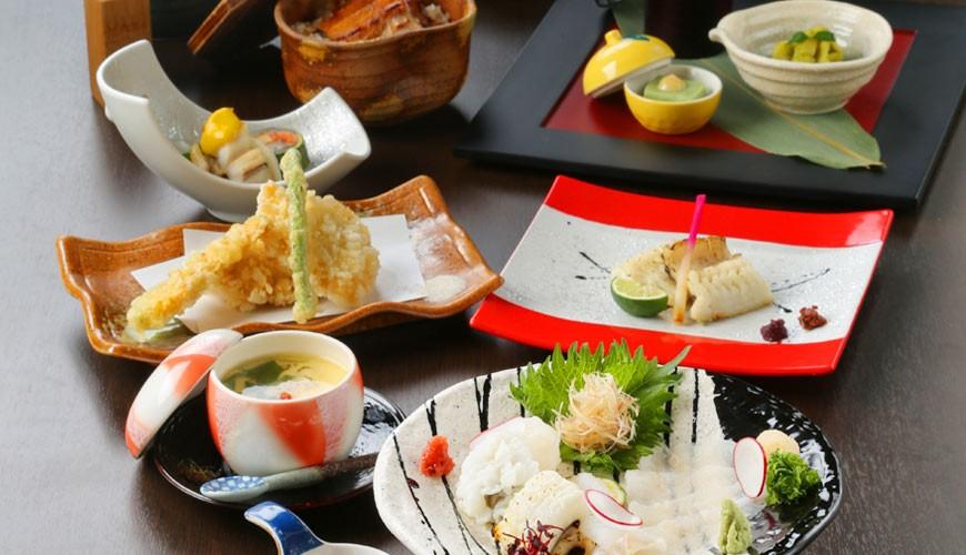 大阪難波吃米其林推薦的星鰻飯!「穴子家 NORESORE 難波店」的「蘭」套餐