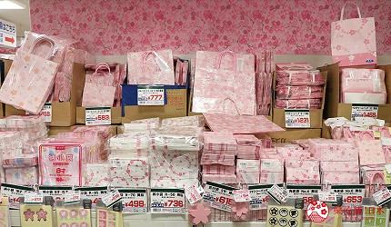 大阪必逛文具包装采购天堂「シモジマ 下岛包装广场・文具商城 心斋桥店」的包装纸与包装袋