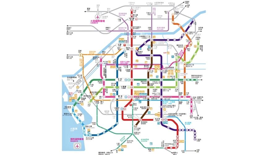 关西交通券大阪周游卡1日券适用范围