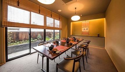 和歌山會席料理四季之味ちひろ座位