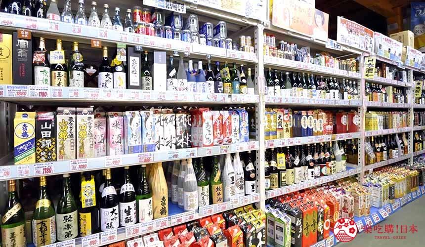 日本关西自由行必逛京都「高木批发超市」的酒类